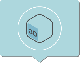 estudio creativo infografía 3D